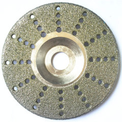 Diamond Electric-plated Saw Blades for Grinding Marble Granite