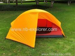 One person backpacking & hiking tent