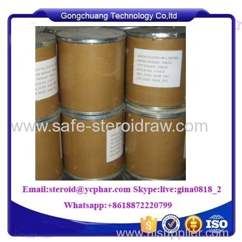 CAS 10592-13-9 Doxycycline Hyclate Doxycycline HCl Veterinary Drug