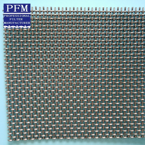 304 square crimped mesh