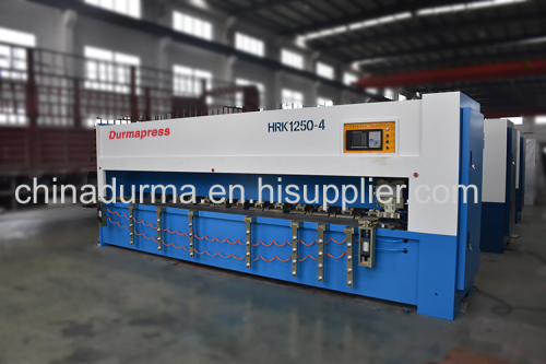 High precision metal sheet 4m v cutting machine