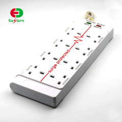 8 outlet power bar