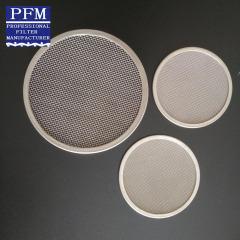 round metal mesh disc