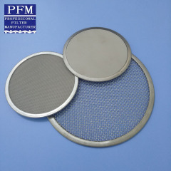 Stainless Steel Screen Mesh Disc