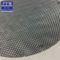 woven Stainless Steel Mesh Disc