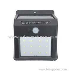 12led waterproof solar motion sensor light outdoor decoraion light