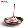 ODM & OEM Handicraft Custom Ceramic Starry Star Pattern Incense Stick Holder Wholesale