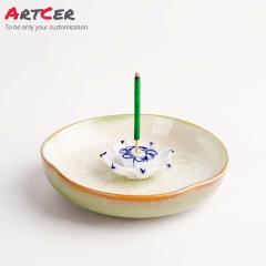 ODM & OEM Handmade Customized Ceramic Incense Burner Holder for Home Decoration