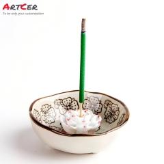 ODM & OEM Handicraft Custom Ceramic Mini Incense Burner for Stick incense