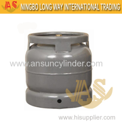 6kg Steel Gas Tank Cylinder for South Africa Market