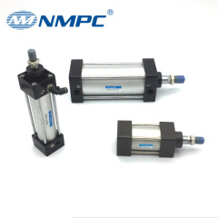 double action air ram pneumatic cylinder