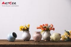Artcer Ceramic Glazed Mini Flower Pot