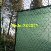 dark green knitted mesh fabric/construction fence/privacy screen/ fence tarp/shade/dust & wind net