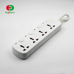 Electrical multi 4 sockets extension power socket