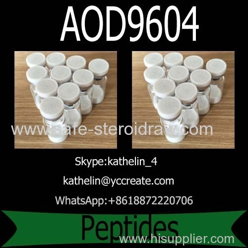 Weight Loss Peptides Fragment Powder AOD9604 For Fat Loss CAS: 221231-10-3
