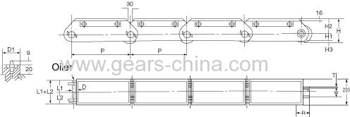 china supplier WH90400 chain