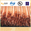 copper weld pointed-threaded ground rod