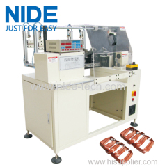 Automatic Large stator cnc coil winding machine for air conditioner motor