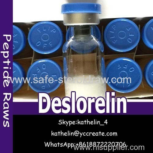 Gonadotropin Releasing Hormone Deslorelin Peptides Powder 20Mg/Vial CAS 57773-65-6