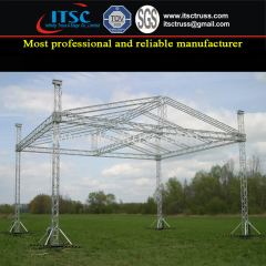 Aluminum Pyramid Roof Truss Rigging Factory