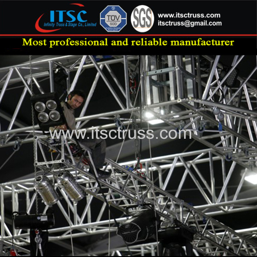 Gymnasium Concert Events Stage Lighting Roof Truss Rigging