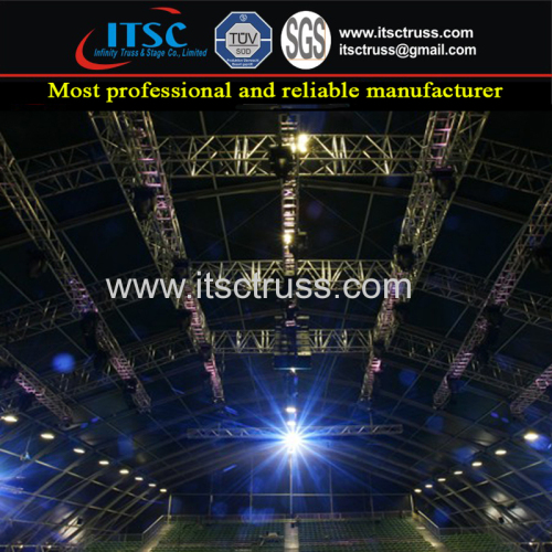 TUV Approved Concerts Performance Events High Quality Stage Lighting Roof Truss Rigging Design and Construction
