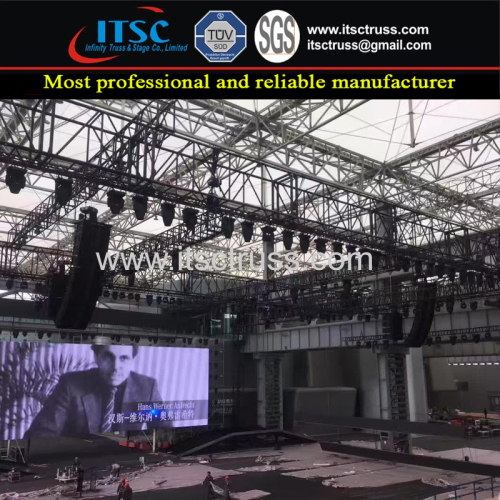 Heavy Duty Lighting Truss Rigging System for Big Concerts Events