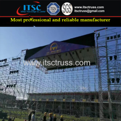 Aluminum Stage Truss Rigging Gable Truss with Steel Scaffolding Roof Price