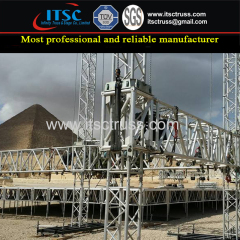 Truss Rigging for Egypt Pyramid Outdoor Event from China