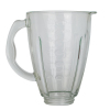 1.5L capacity nice blender glass jar with scale and handle