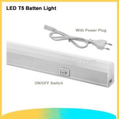 0.3m LED T5 Batten 4W Under Shelf Lights & Lighting plug in