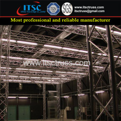 Stage Truss Rigging Rental for Indoor Exhibition and Display