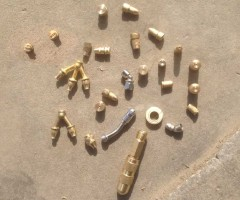 brass nozzles for sprayer copper nozzles jet FAN nozzles for pump spray tee spray metal nozzles one hole two hole