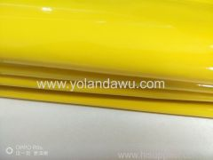 Shiny vinyl fabric Shiny PVC leather