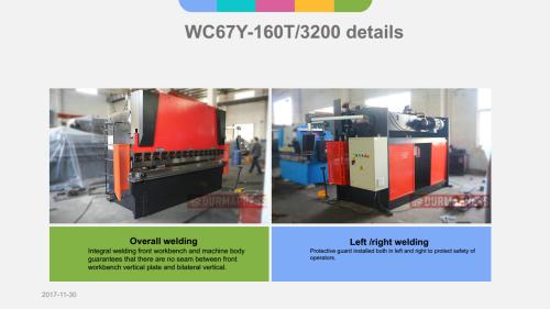 DELEM DA41 Controller WC67K 160T 3200 CNC Press Brake