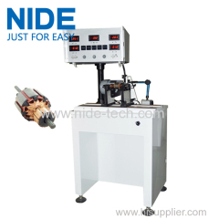 Auto servo motor rotor testing equipment armature dynamic balancing equipment