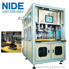 High automation stator coil winding and coil insertion machine