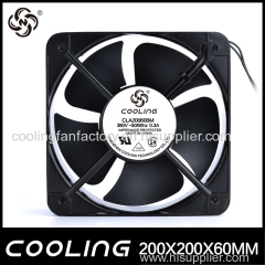 20060 AC 220V Sirocco Industrial Exhaust Fan 200mm Large Air Volume Cooling Fan Fireplace Exhaust Fan