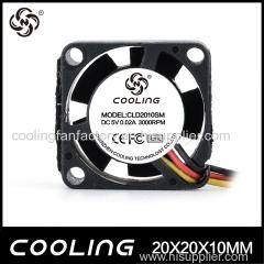 High Quality 2010 DC Axial Fan DC Cooling Fan