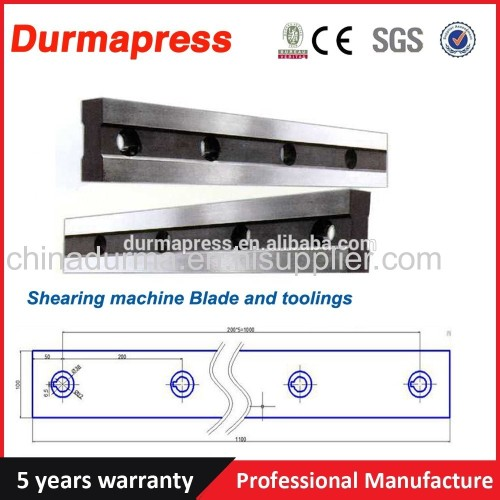 CNC hydraulic cutting machine shearing blade