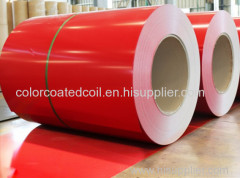 PPGI PPGL cold rolled hot rolling galvanized galvalume color coated PCM VCM prepainted steel coil sheet