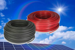 12 AWG DC 0.6KV single core PV wire solar cable for photovoltaic power systems with UL 4703 Approved.