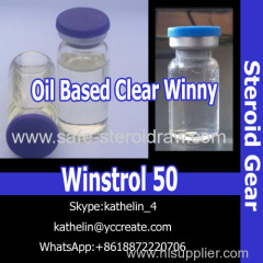 Steroid gear Water Based Oral Milky Win strol 50 Oil Based Injection Clear Winny 50 For Bodybuilding