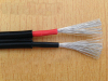 double core 2*4.0 mm2 DC 1000/1800V PV wire solar cable for photovoltaic power systems
