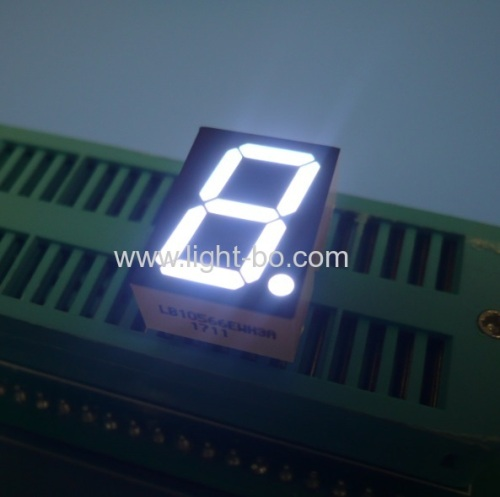 Ultra white common cathode 0.56  dual digit 7 segment led display for instrument panel