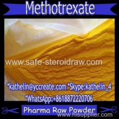 Pharma Grade Yellow Orange Powder Methotrexate (MTX)For Anti Cancer CAS: 59-05-2