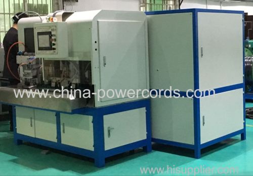 3-Pin Plug Inserts Crimping machine with cable cutting