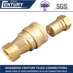 ISO7241-B Brass Quick Coupling