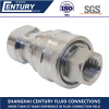 Close Type Hydraulic 304 Stainless Steel Quick Release Coupling BSPT1/2 Quick Coupler