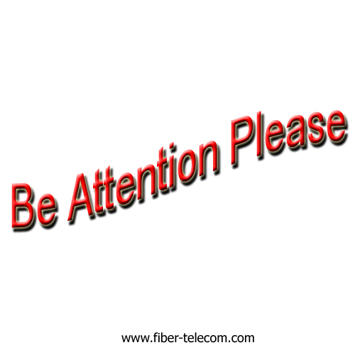 Be Attention Please!